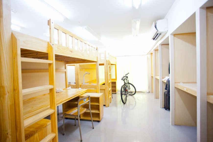 หอพักนักเรียนที่สามารถเข้าถึงได้ด้วยการเดินเท้าจากโรงเรียน